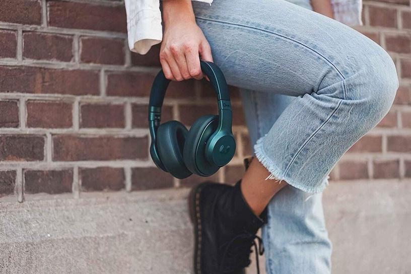Belaidės ausinės Fresh 'n Rebel Clam, mėlynos