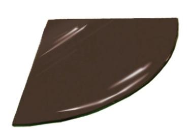 Kampinė lentynėlė Stiklita l6tr14/20, 20 x 20 x 0,6 cm