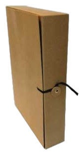SMLT Archive Box With Strap A4 320x235x80mm Brown
