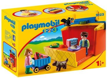 Playmobil 1-2-3 Take Along Market Stall 9123