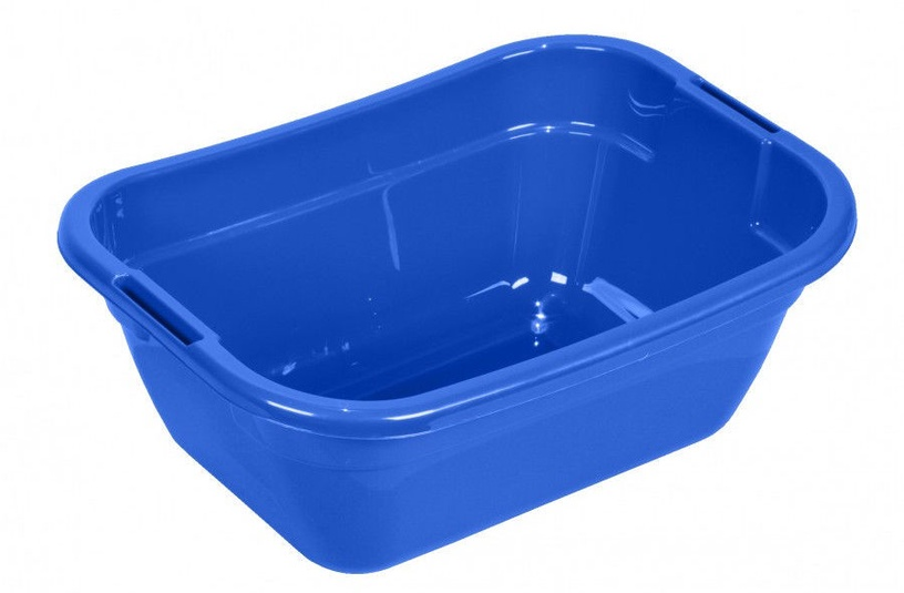 Plast Team Laundry Basin Oval 23l Blue