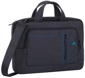 Rivacase, Canvas Laptop Bag 13.3'' Black