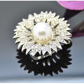 Vincento Brooch With Zirconium Crystal LD-1205