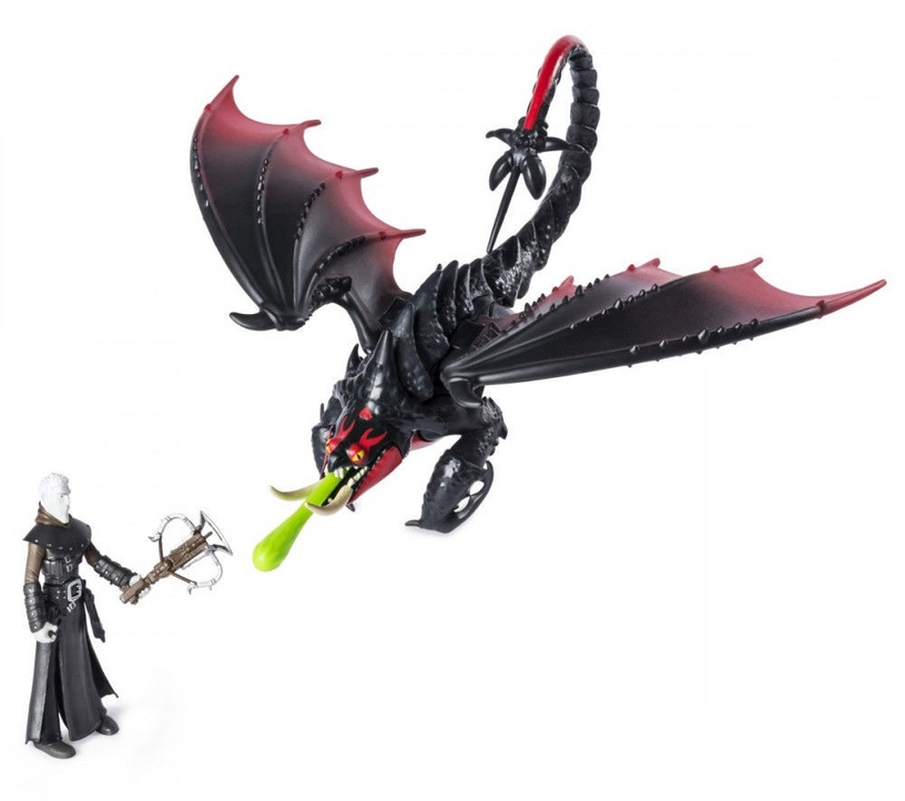 Spin Master DreamWorks How To Train Your Dragon Hidden World Viking Black-Red