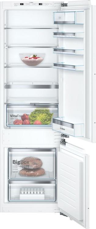Įmontuojamas šaldytuvas Bosch Series 6 KIS87AFE0 White