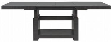 Black Red White Heze Max Table Black