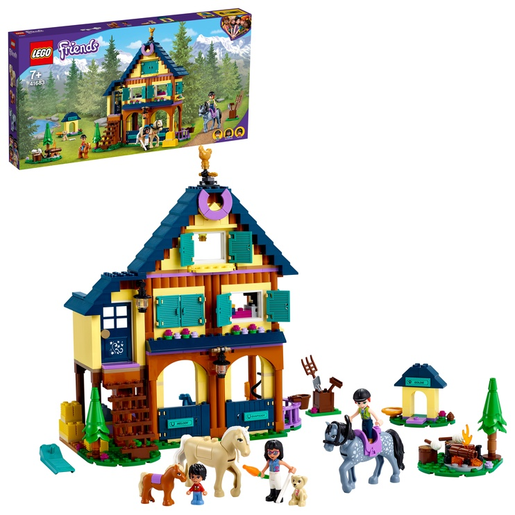 Конструктор LEGO Friends Forest Horseback Riding Center 41683, 511 шт.
