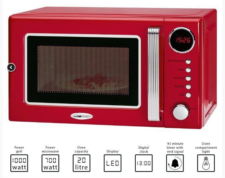 Mikrobangų krosnelė Clatronic MWG 790 Red