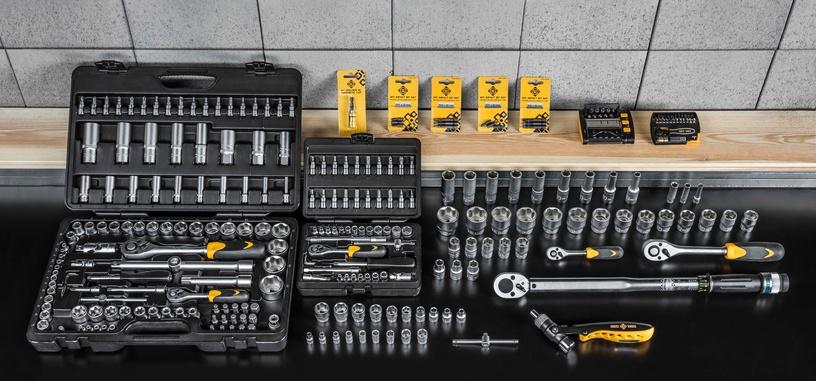 Uzgaļi triecienskrūvgriezim Forte Tools PZ2, 25mm, 3gab.