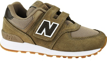 New Balance Kids Shoes YV574PRB Brown 35