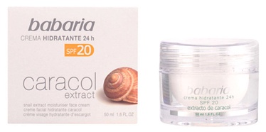 Babaria Snail Extract Moisturiser Face Cream SPF20 50ml