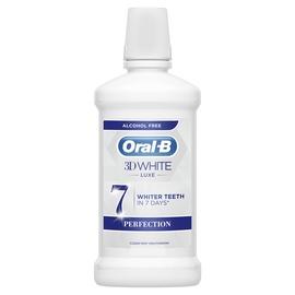 Suuvesi Oral-B 3D White Luxe, 500 ml