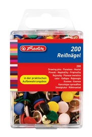 Herlitz Drawing Pin 200pcs 08770109