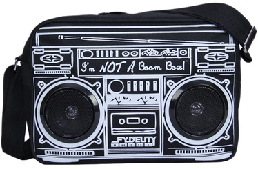 Kuprinė Fydelity Le Boombox Bag with Speakers Black