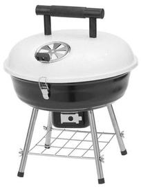 Mustang Festival Picnic Barbecue Grill Black/White