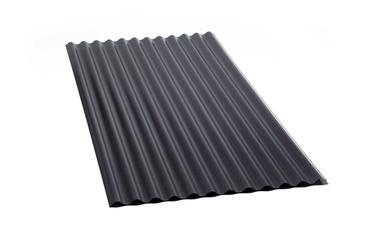 PLAAT PVC SIINUS MUST 1.2X900X2000