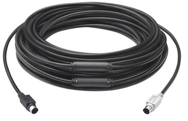 LogiLink Cable mini DIN-6 / mini DIN-6 Black 15m