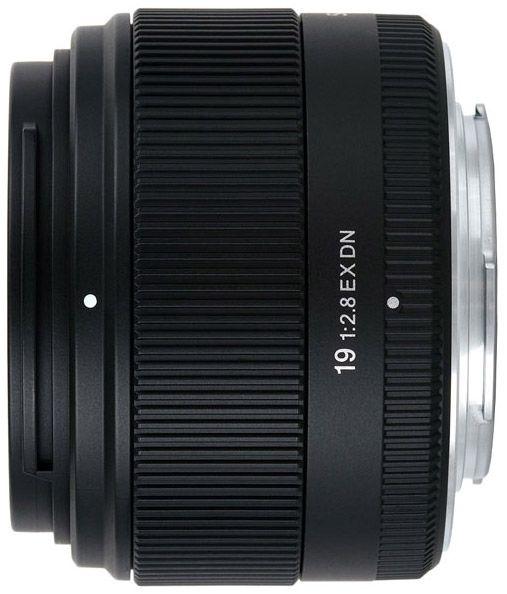 Sigma 19/2.8 EX DN Micro Four Thirds