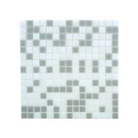 Stiklo mozaikos pilka BTS101, 32.7 x 32.7 cm