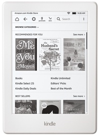 Электронная книга Amazon Kindle Touch 8 White, 4 ГБ