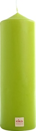 Eika Pillar Candle 21x7cm Green