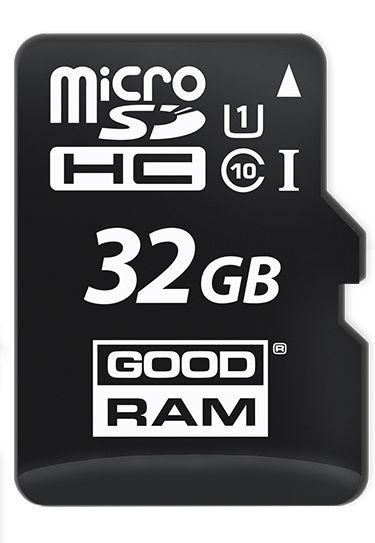 Mälukaart Goodram Micro SDHC 32GB UHS-I Class 10 + SD Adapter