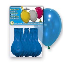Õhupallid Sinine, 12 tk