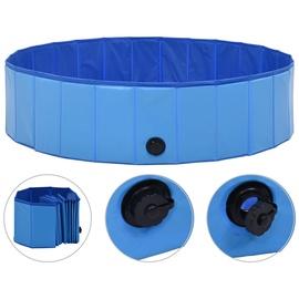 Бассейн VLX Dog Swimming Pool, синий/черный