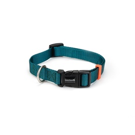 Beeztees Nylon Collar Uni Dark Green 20-30x1cm