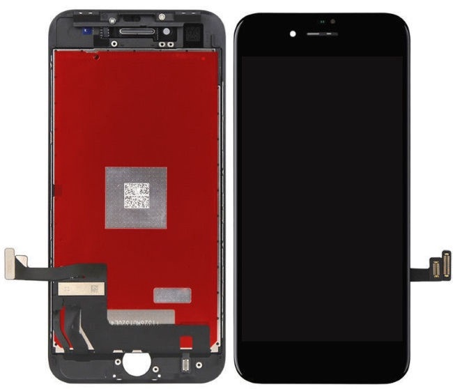 HQ Analog LCD Display + Touch Panel For Apple iPhone 8 Black