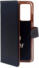 Celly Wallet Case For Samsung Galaxy S20 Plus Black