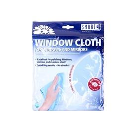 Universali mikropluošto šluostė langams valyti Smart, žydra