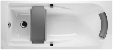 KOLO Comfort Plus Acrylic Bath with Legs White 1600x800mm