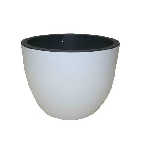 Plastikinis vazonas Muna 3320-011+059, Ø40 cm