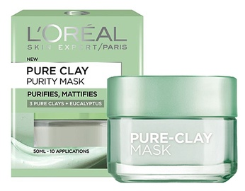 L´Oreal Paris Pure Clay Purity Face Mask 50ml