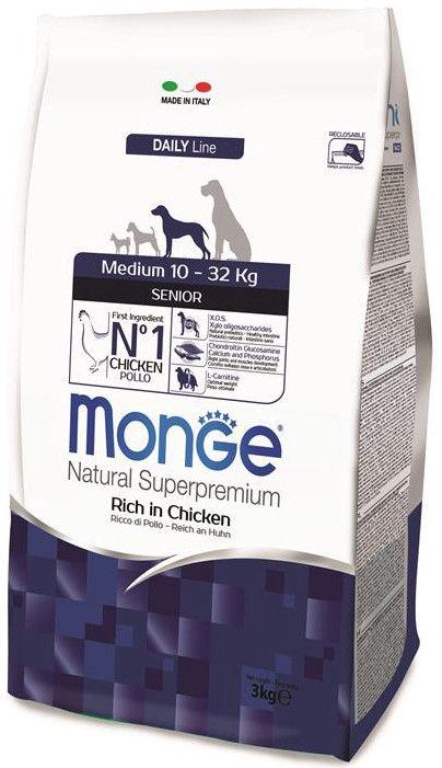 Monge Daily Line Medium Senior With Chicken 3kg