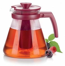 Tējkanna Tescoma Teo Infuser Tea/Coffee Maker 1.25l Red