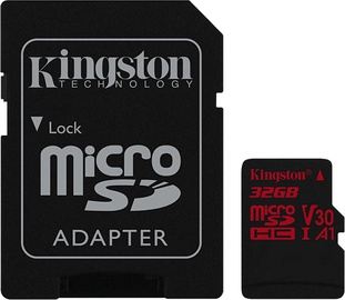 Kingston Canvas React 32GB + SD Adapter