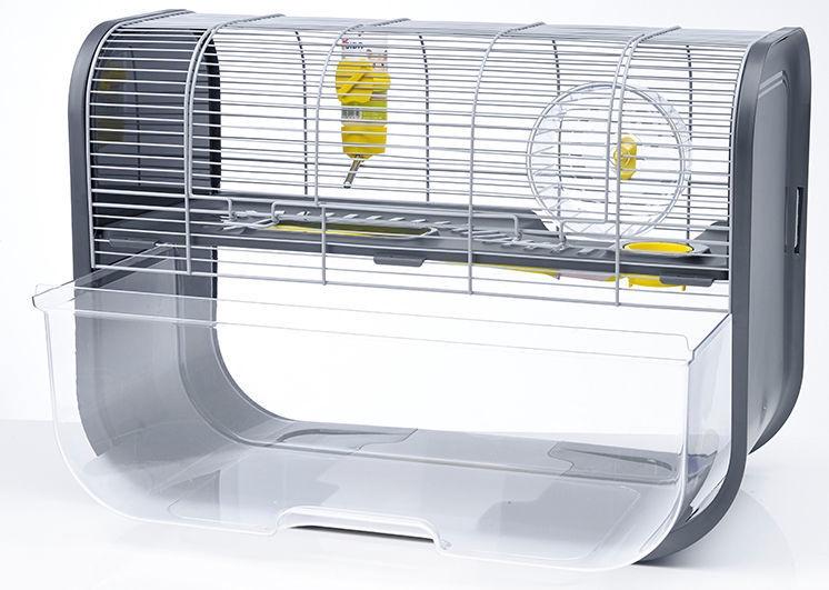 Savic Geneva Hamster Home Silver/Anthracite