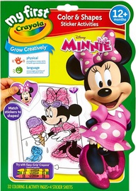 Crayola Color & Shapes Sticker Activities Minnie