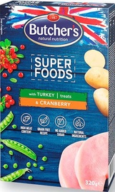 Butchers Super Foods Cranberry & Turkey 320g