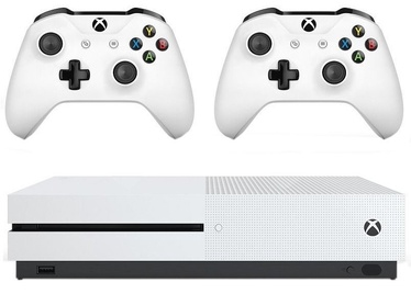 Microsoft Xbox One S 1TB White + Wireless Controller