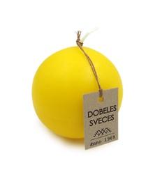 Svece bumba dzeltena d-8cm
