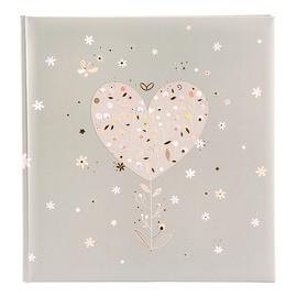 Альбом для фотографий Goldbuch Elegant Heart, коричневый