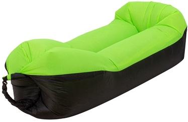 Täispuhutav madrats RoGer Sofabed, must/roheline, 2000x700 mm