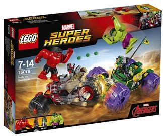 Конструктор LEGO Super Heroes Hulk vs. Red Hulk 76078, 375 шт.