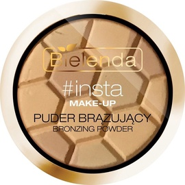 Bronzējošs pulveris Bielenda Insta-Make-Up Highlight & Contour 01, 10 g
