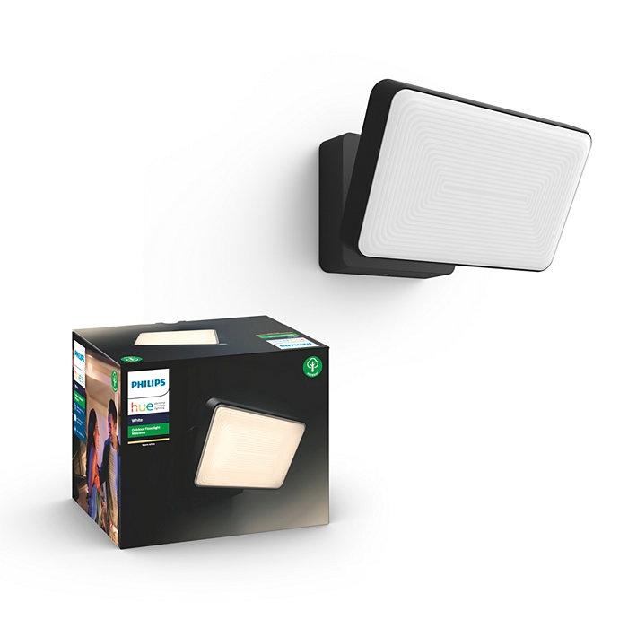 Светильник Philips Welcome, 2x15Вт, 2700°К, LED, IP44, черный