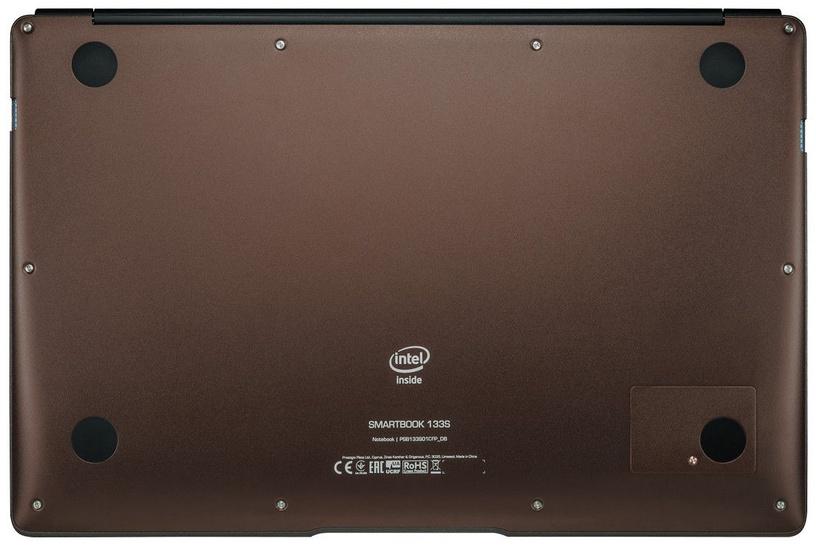 Nešiojamas kompiuteris Prestigio SmartBook PSB133S SSD 120GB Dark Brown