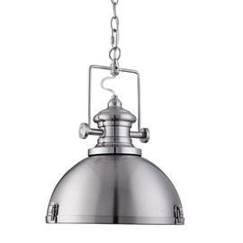 Retro stiliaus pakabinamas šviestuvas Searchlight Industrial 2297SS, 1 x 10W E27